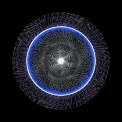 Digital Art - Circle Study No. 463 by Alan Bennington