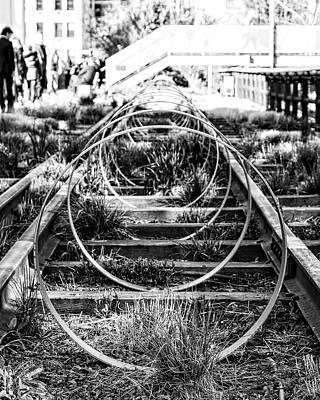 Photograph - Circles by Alan Raasch