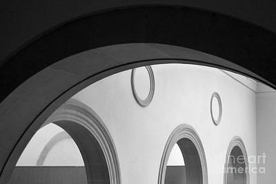Photograph - Circles And Arches by PJ Boylan