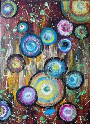 Painting - ''circles'' by Asia Dzhibirova