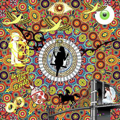 Circles Circles Circles Art Print
