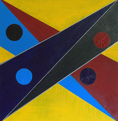 Painting - Circles Lines Color #8 by J R Seymour