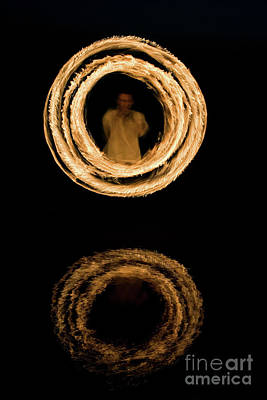 Photograph - Circles Of Fire by Tim Gainey