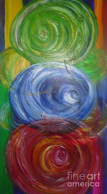 Painting - Concentric Joy by Sarahleah Hankes