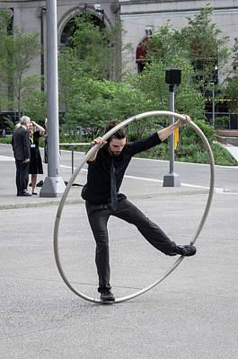 Photograph - Circles by Stewart Helberg