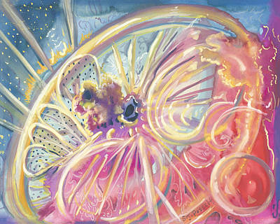 Painting - Circlewheel Of Life by Sheri Jo Posselt