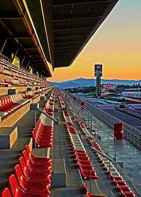 Circuit De Catalunya - Barcelona  Art Print