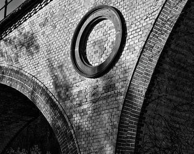Taunus Photograph - Circular Brick by Daniel Koglin