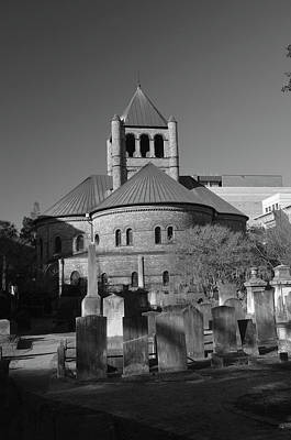 Photograph - Circular Congregational Church 4 Bw by Gordon Mooneyhan