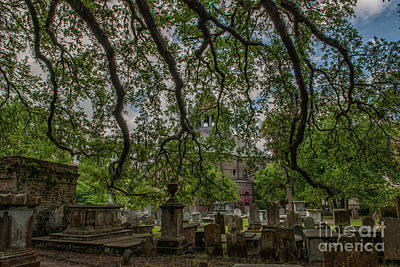 Photograph - Circular Congregational Church Cemetery by Dale Powell