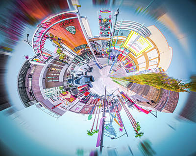 Photograph - Circular Experience by Mark Dunton