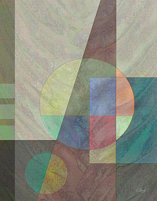 Contemporary Abstract Digital Art - Circular by Gordon Beck