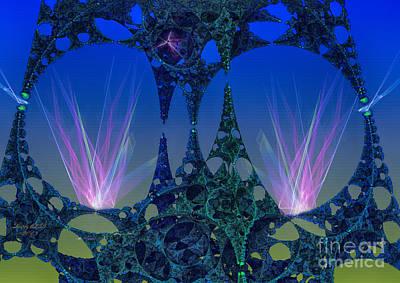 Digital Digital Art - Circular Motion by Melissa Messick