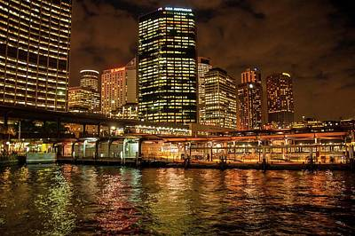 Photograph - Circular Quay And Sydney City Skyline by NaturesPix