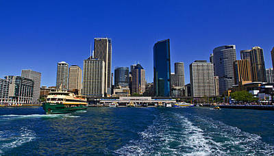 Photograph - Circular Quay In Sydney Cove by Miroslava Jurcik