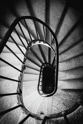 Photograph - Circular Stairs by Alexandre Rotenberg