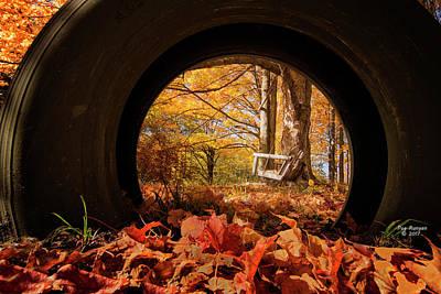 Photograph - Circular Vision by Peg Runyan
