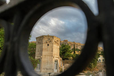 Akropolis Photograph - Circular Window To The Past 2 by Iordanis Pallikaras