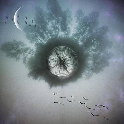 #circularapp #landscape #tinyworld Art Print