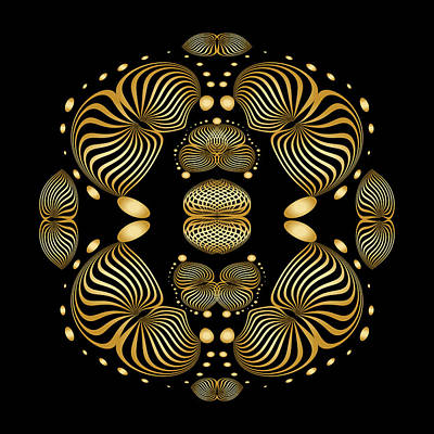 Digital Art - Circularity No 1635 by Alan Bennington