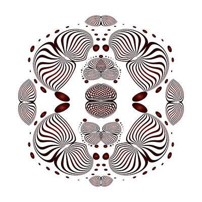 Digital Art - Circularity No 1638 by Alan Bennington