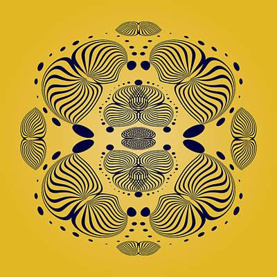 Digital Art - Circularity No 1643 by Alan Bennington