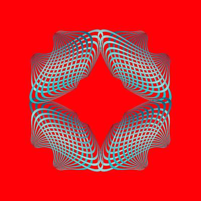 Digital Art - Circularity No 1649 by Alan Bennington