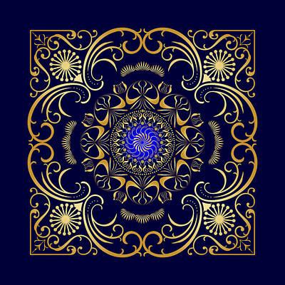 Digital Art - Circularity No 1652 by Alan Bennington