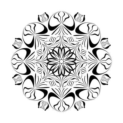 Digital Art - Circularity No 1656 by Alan Bennington