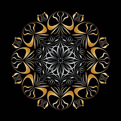 Digital Art - Circularity No 1659 by Alan Bennington