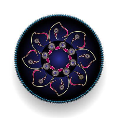 Digital Art - Circularium No 2681 by Alan Bennington