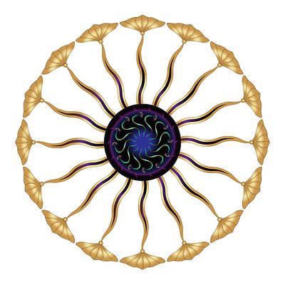 Digital Art - Circularium No 2683 by Alan Bennington