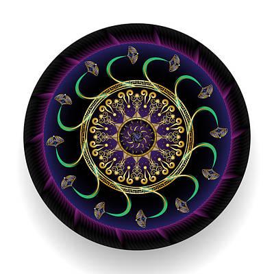 Digital Art - Circularium No 2691 by Alan Bennington