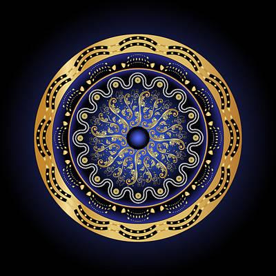 Digital Art - Circularium No 2694 by Alan Bennington
