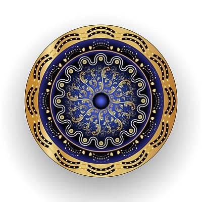 Digital Art - Circularium No 2695 by Alan Bennington
