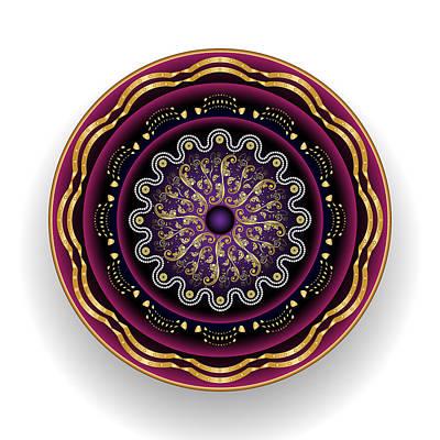 Digital Art - Circularium No 2697 by Alan Bennington