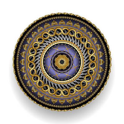 Digital Art - Circularium No 2701 by Alan Bennington