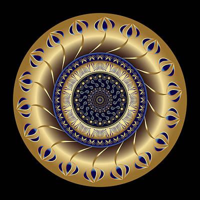 Digital Art - Circularium No 2709 by Alan Bennington