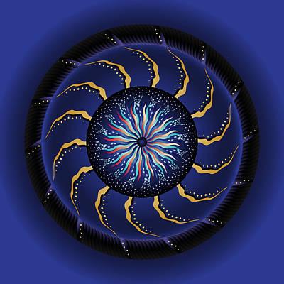 Digital Art - Circularium No 2710 by Alan Bennington