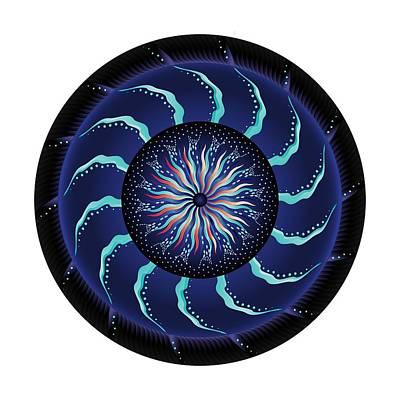 Digital Art - Circularium No 2711 by Alan Bennington
