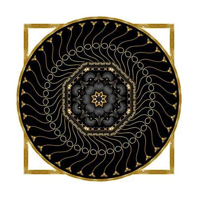 Digital Art - Circularium No 2712 by Alan Bennington