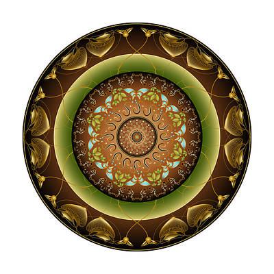 Digital Art - Circularium No 2715 by Alan Bennington