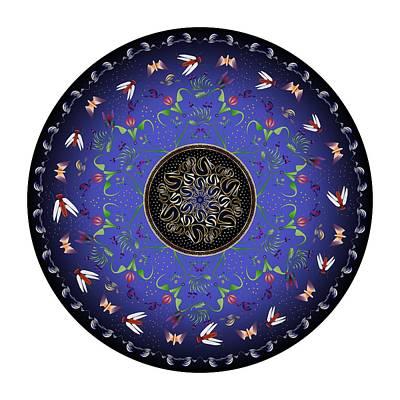 Digital Art - Circularium No 2717 by Alan Bennington