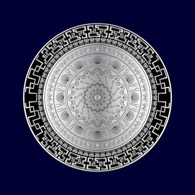 Digital Art - Circularium No. 2724 by Alan Bennington