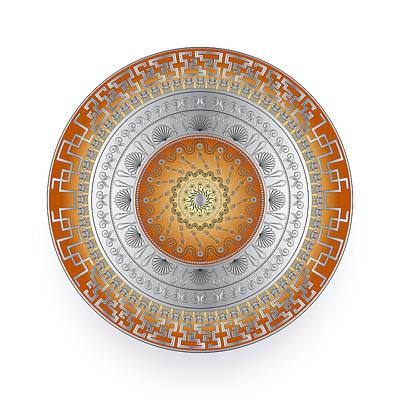 Digital Art - Circularium No. 2725 by Alan Bennington