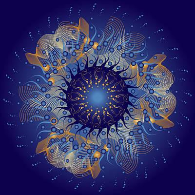Digital Art - Circularium No. 2727 by Alan Bennington