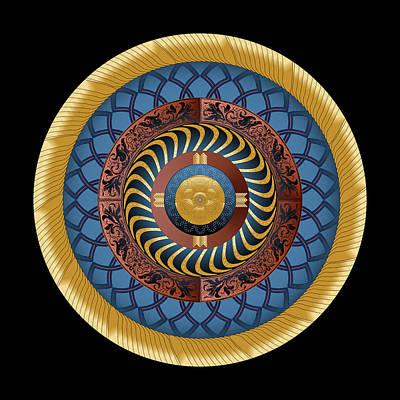 Digital Art - Circularium No. 2730 by Alan Bennington