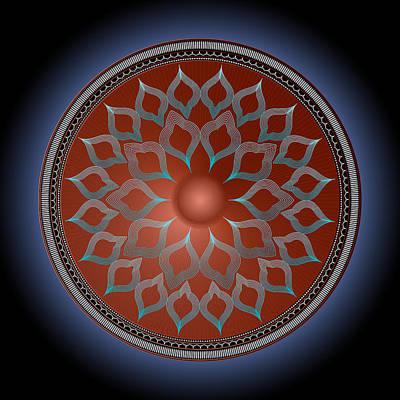 Digital Art - Circularium No. 2735 by Alan Bennington