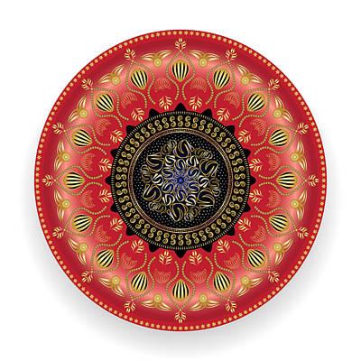 Digital Art - Circularium No. 2737 by Alan Bennington
