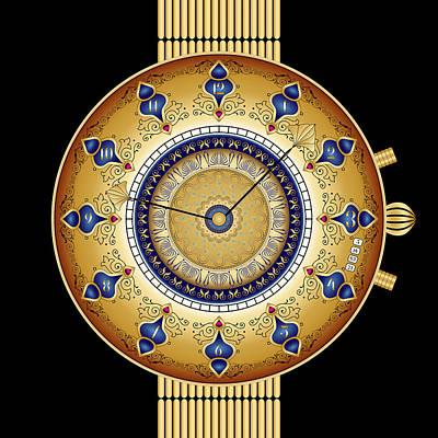 Digital Art - Circularium No 2743 by Alan Bennington